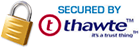 Logo secured by thawte